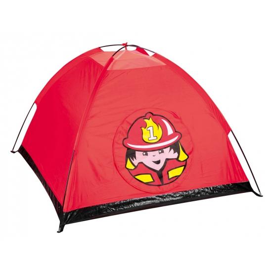Brandweer tent voor kinderen