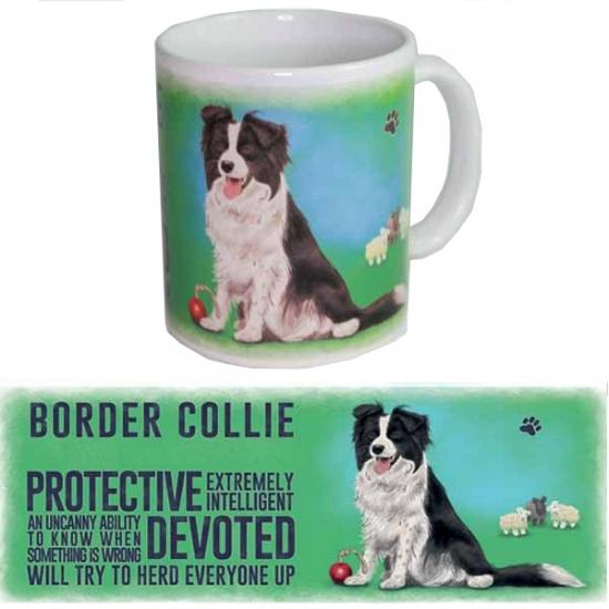 Koffie mok Border Collie
