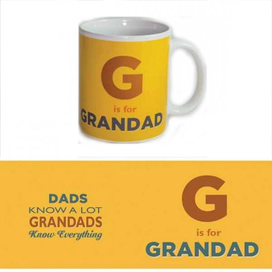 Koffie mok Grandad