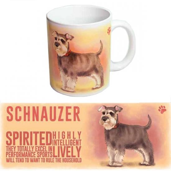 Koffie mok Schnauzer