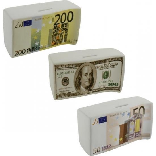 Spaarpot 50 Euro biljet 16.5 cm