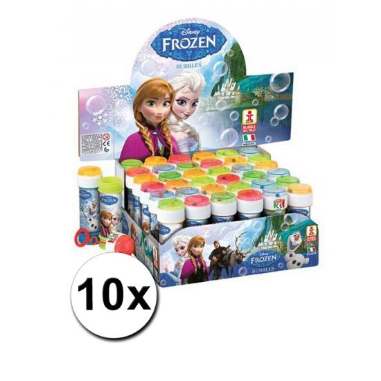 Voordelige Frozen bellenblazen set 10x