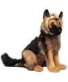 Hansa pluche Duitse Herder pup knuffel 41 cm
