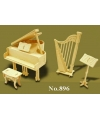 Poppenhuis muziekinstrumenten