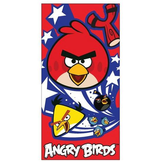 Badlaken Angry Birds 70 x 140 cm