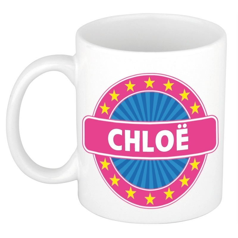 Chlo? naam koffie mok-beker 300 ml