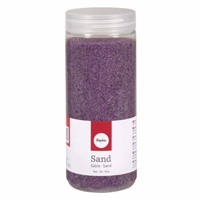 Fijn decoratie zand lila