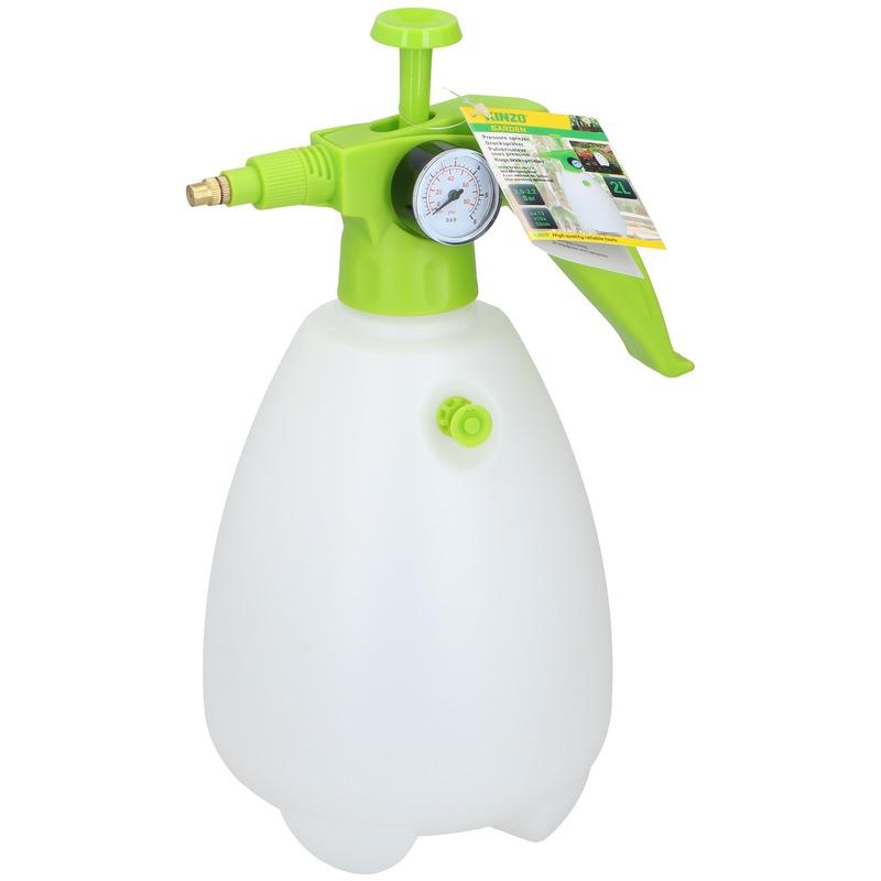 Groene drukspuit plantenspuit-plantensproeier 2 liter