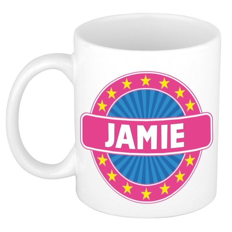 Jamie naam koffie mok-beker 300 ml