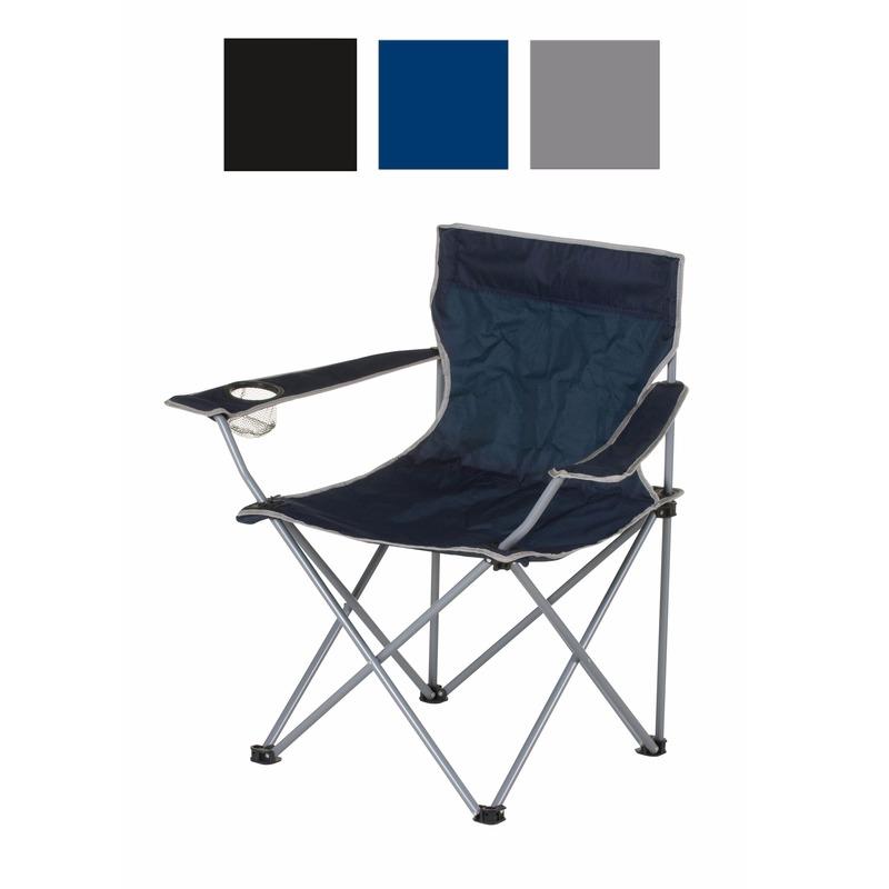 Kobalt opvouwbare campingstoel