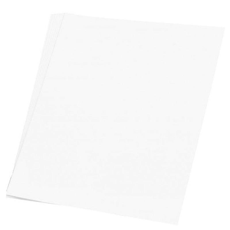 100 vellen wit A4 hobby papier