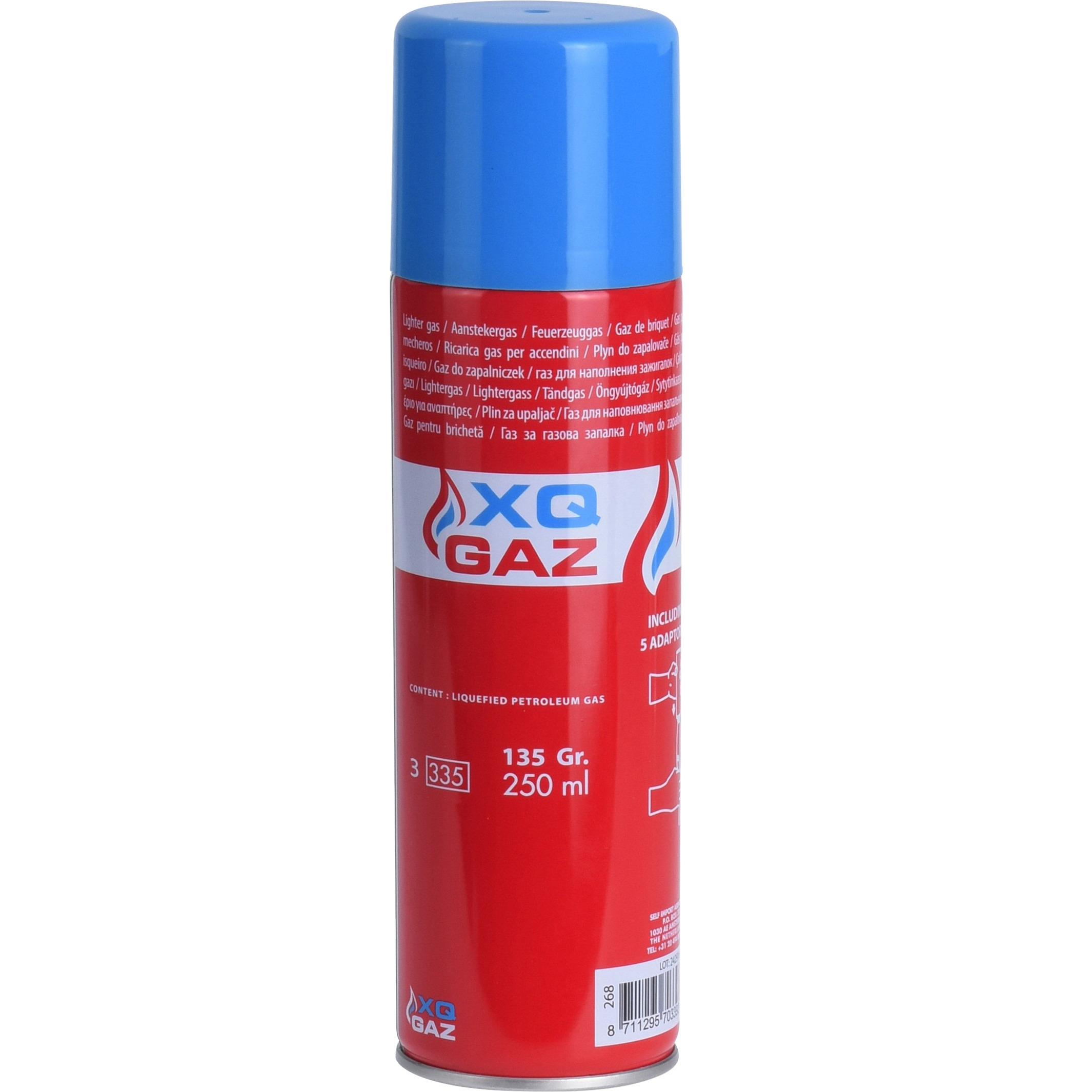 1x Busje aansteker gas-butaan gasfles 250 ml