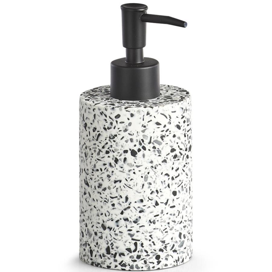 1x Zeeppompjes-zeepdispensers met mozaiek decoratie 17 cm