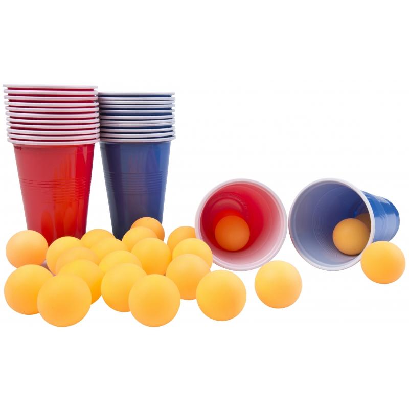 Drankspel-drinkspel beer pong spel 48 delig