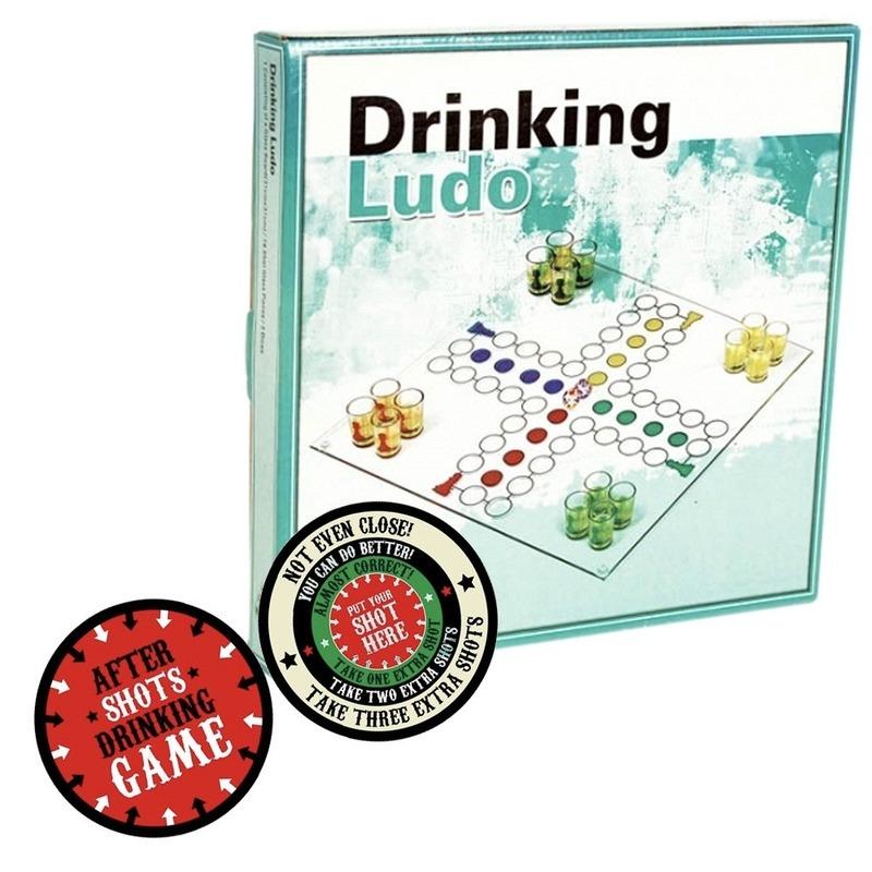 Drankspel-drinkspel ergernis bordspel met after shots viltjes
