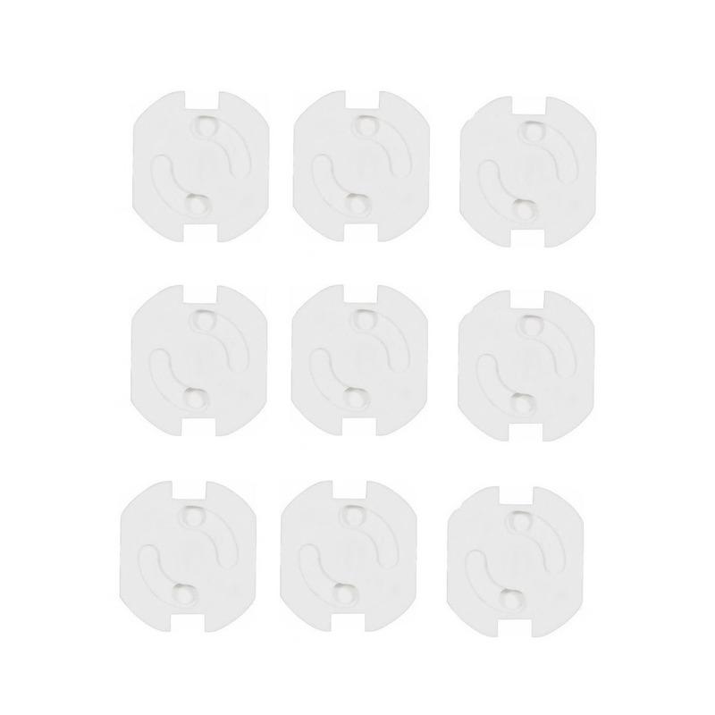 Stopcontactbeveiliging wit 9 stuks