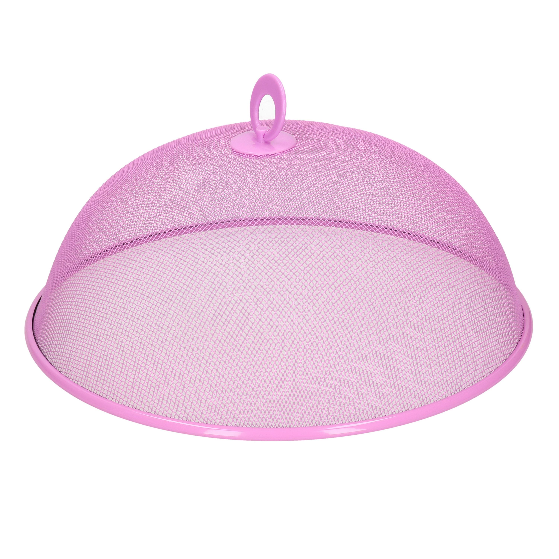 Vliegenkap roze-paars voor voedsel 30 cm
