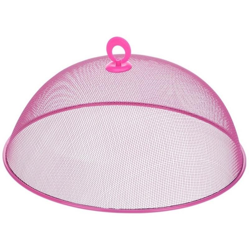 Vliegenkap roze voor voedsel 30 cm